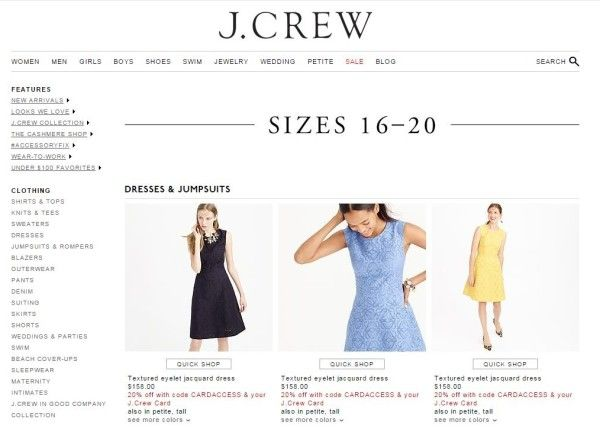 From J. Crew To Ann Taylor, 9 Non Plus Size Brands, Plus Size Women Can Actually Shop At (Plus Size Shopping)