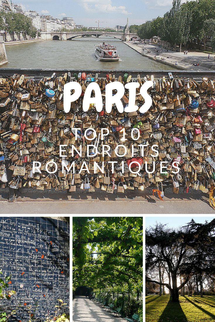 10 endroits romantiques de Paris où se promener avec sa moitié. http://blog.bubble-globe.fr/paris-mon-amour/