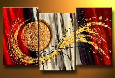 pinturas abstractas modernas al oleo decorativo maravilloso