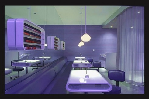 Hair salon and spa interior by Skylab