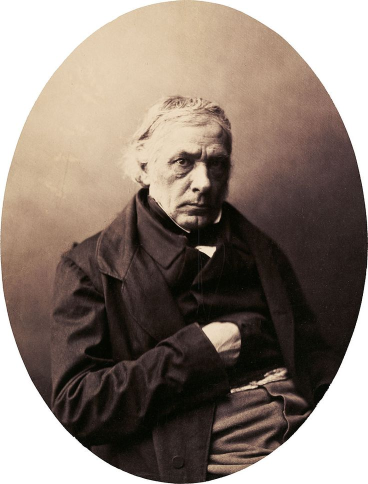 Victor Cousin by Gustave Le Gray, late 1850s - Gustave Le Gray