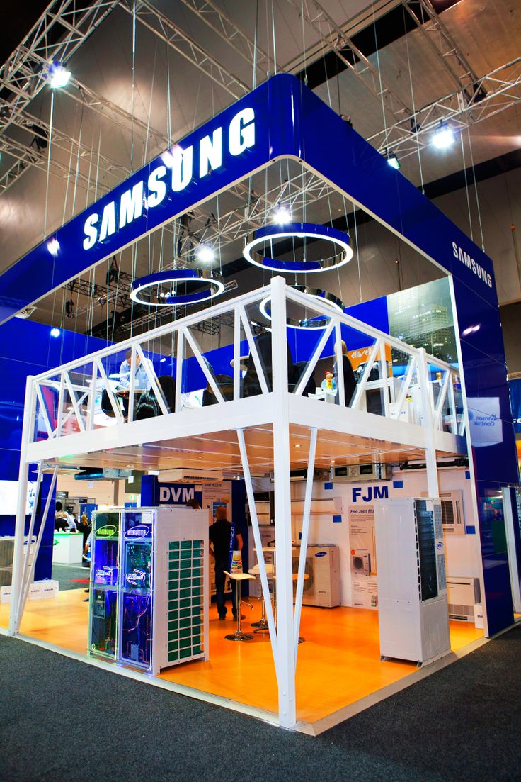 Expo Stands Australia : Samsung exhibition stand designed and constructed by