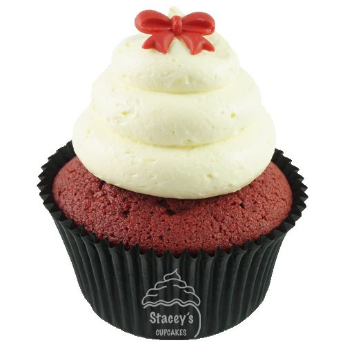 "Gourmet Red Velvet Cupcake ""The Red Carpet"" by Stacey's Cupcakes www.staceyscupcakes.com.au"