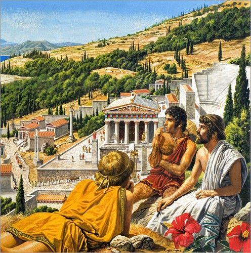 """Bild von Roger Payne - """"Ancient Greece"""""""