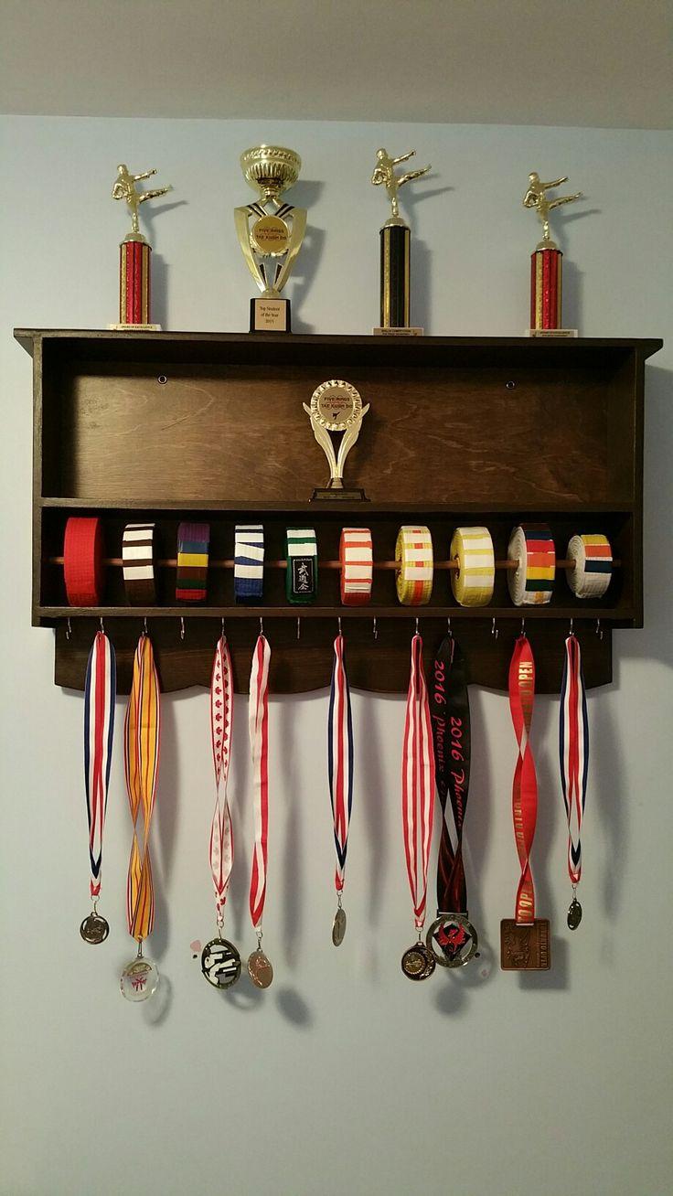 Build Karate Belt Holder