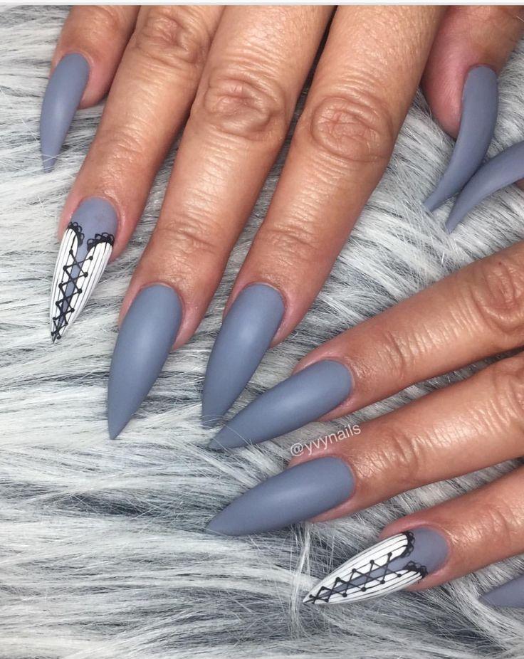 Corset design Stiletto nails