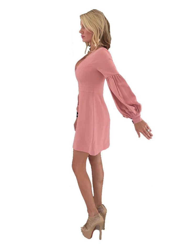 Alexis Ellena Dress in Ash Pink - SWANK - Dresses - 4
