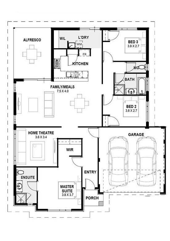 my valencia home designs perth single storey home designs perth rh in pinterest com