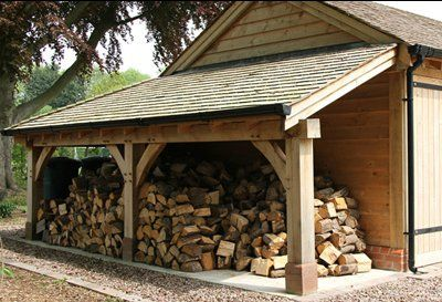Oh ..log store and a half... some winters they must have