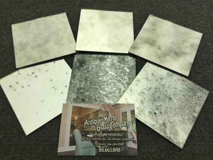 Individual Sample - Choose from Dropdown list - Antique Mirror Glass Samples