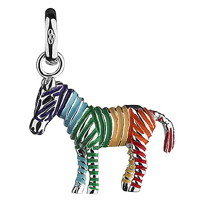 Buy Links of London Rainbow Zebra Charm online at JohnLewis.com - John Lewis