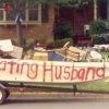 White Rock woman holds Lying cheating husband sale