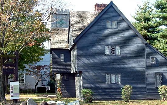 The Jonathan Corwin House, one of the only buildings left standing from the 1692 Salem Witch Trials.
