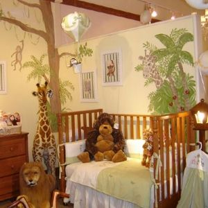 17 awesome kids room design ideas inspired from the jungle - Baby Bedroom Theme Ideas