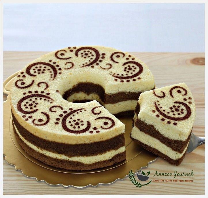 Orange Chocolate Chiffon Cake Great instructions and recipe.