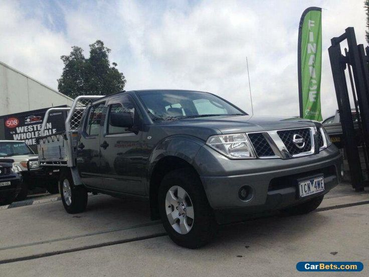 2011 Nissan Navara D40 MY11 RX (4x4) Grey Automatic 5sp A Dual Cab Pick-up #nissan #navara #forsale #australia