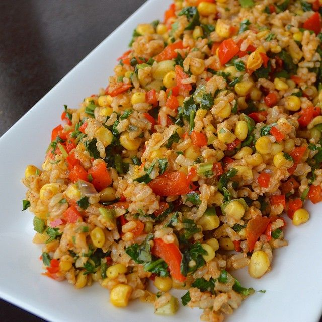 Rainbow rice up on the blog today, direct link in profile! #eatclean