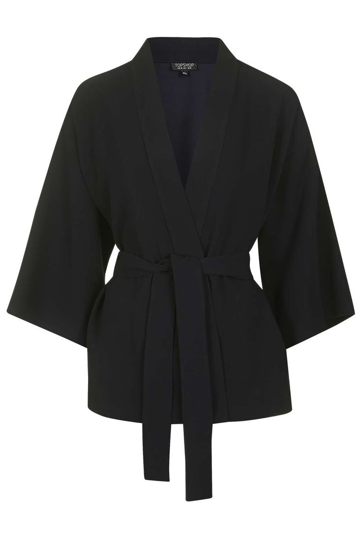 Photo 1 of Belted Kimono Jacket