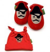 Funky Подарочный набор Красный Пират 1 < Подарки для новорожденных < Товары для детей | Интернет-магазин mobo.ru