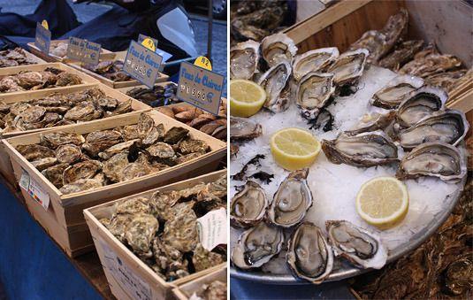 Oysters: La Mascotte