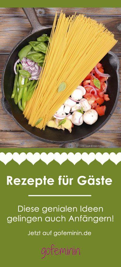 One Pot Pasta, Pizza-Schnecken ...