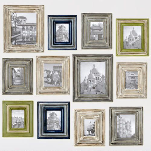 Whitewash Colin Frames:: Photo colleague wall: Corey Frames, Wash Cody, Frames Size, Decoration Idea, Colin Frames, Whitewash Frames, Grey Wash, Cody Frames, Whitewash Colin