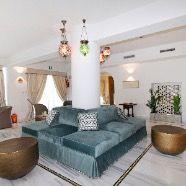 Reception Hotel Villa Hadeel Concept design by Patrizia Mosconi  #interiordesign #progettazione #divano #sofa #luxuryfabric #homedecor