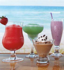 commercial frozen drink machine recipes