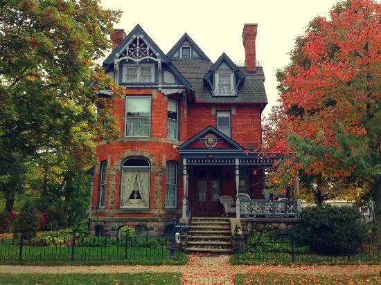 "witchyautumns: ""  Chelsea House Victorian Inn, Chelsea, MI """