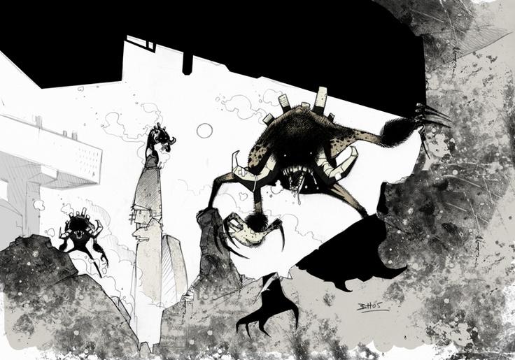Codehunters / concept by Ben Hibon  © Stateless Productions Ltd.