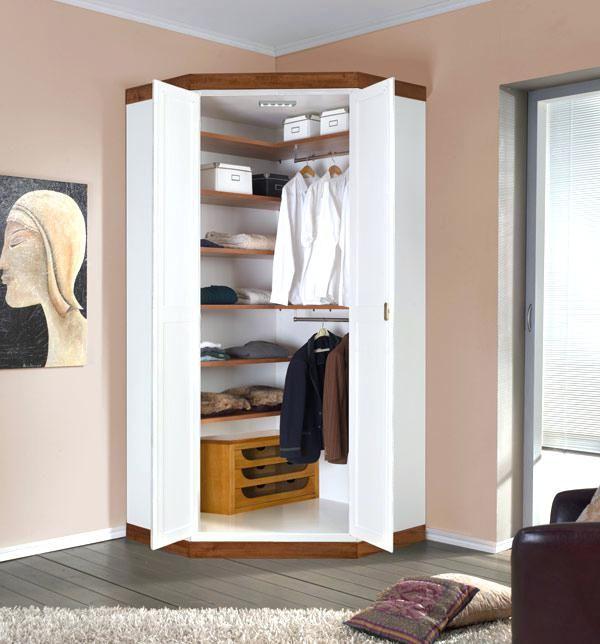 corner wardrobe closet