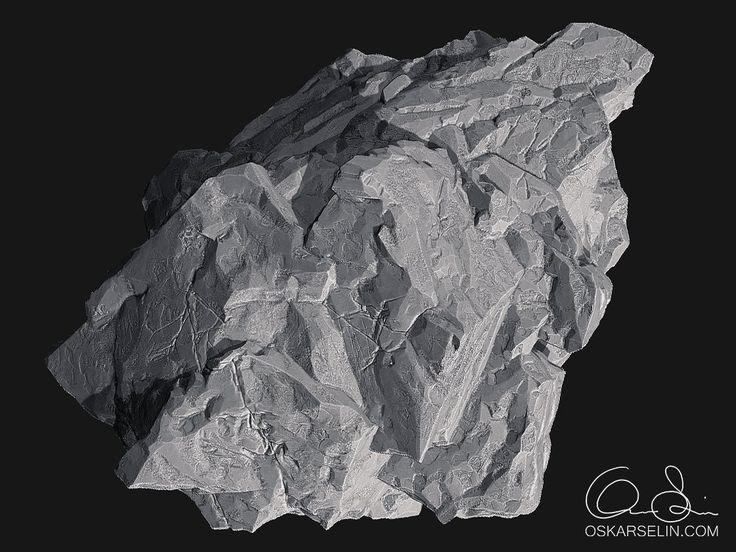 ArtStation - Rock Sculpt, Oskar Selin
