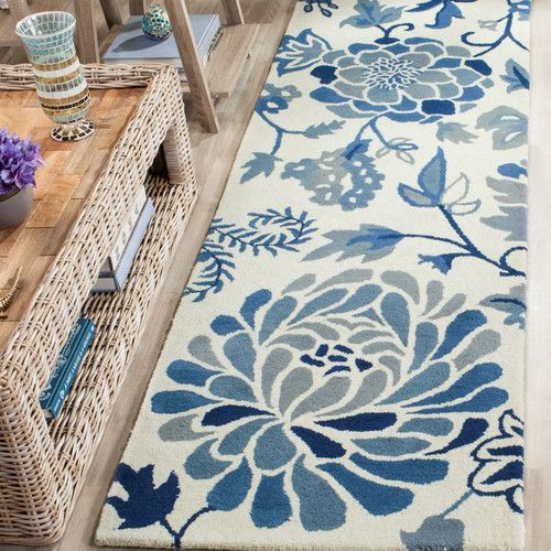 18 best rugs images on Pinterest Joss main Area rugs and Blue