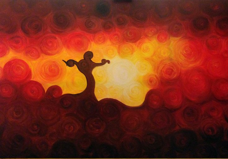 Dipinti ad olio: Cristo Redentore