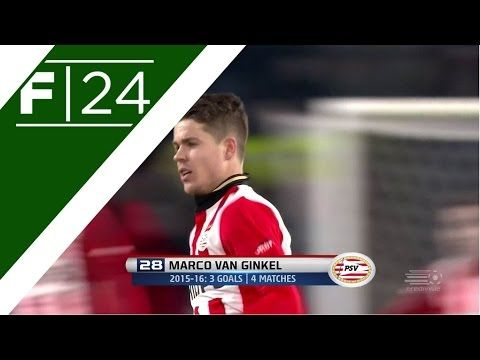 Chelseas Marco van Ginkel on target for PSV (Official Video)