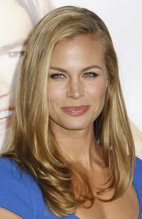 Brooke Burns: one-length medium-long straight style with 'hugging bends'