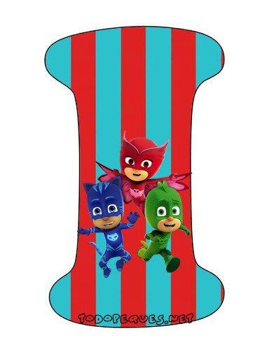 Abecedario-heroes-en-Pijamas-Letra-i-Letters-Pj-Masks.jpg (371×483)