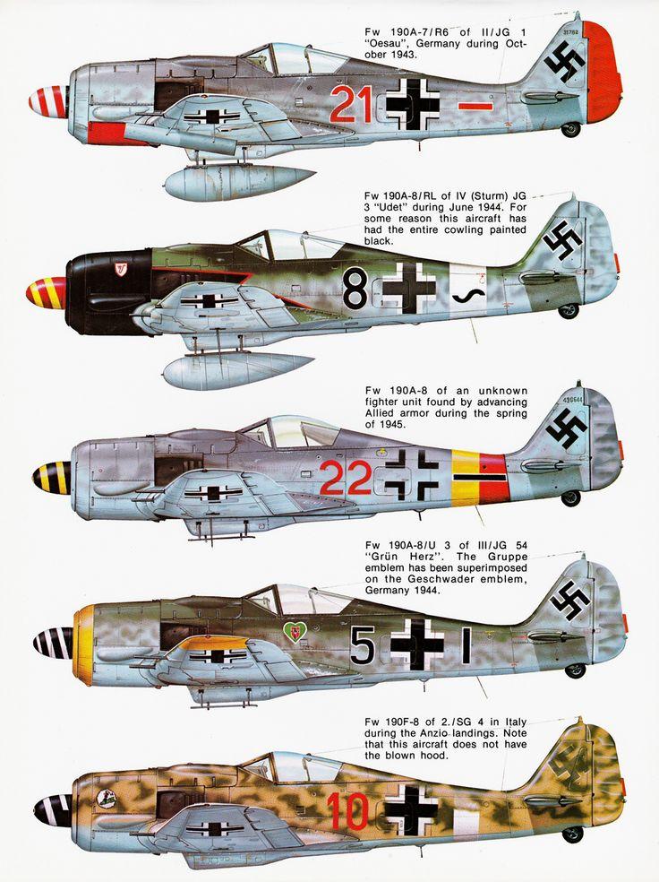 Squadron Signal N° 19 - Focke Wulf Fw190