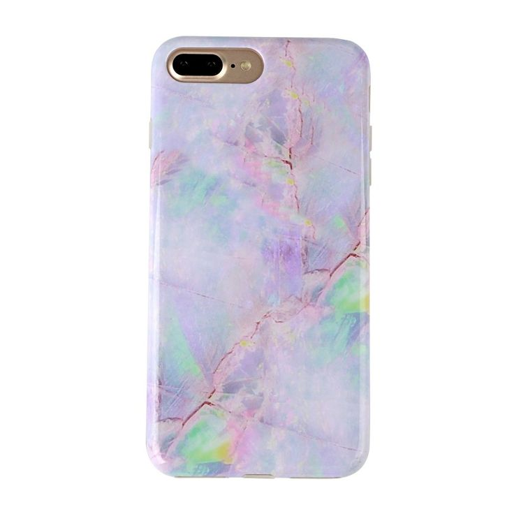 "Pink Marble iPhone 7 PLUS case Cotton Candy Cover by Velvet Caviar Cute Case for Girls. iPhone 7 PLUS ONLY: If you need this pink Cotton Candy case for a different device, search ""Velvet Caviar iPhone #"". BUMPER PROTECTION: 360 degree bumper protection with access to all ports and buttons. SCREEN PROTECTION: front raised lip protecting your phone's screen when placed on surfaces or dropped. DROP PROTECTION: case is made from soft and flexible TPU plastic which provides shock absorption..."