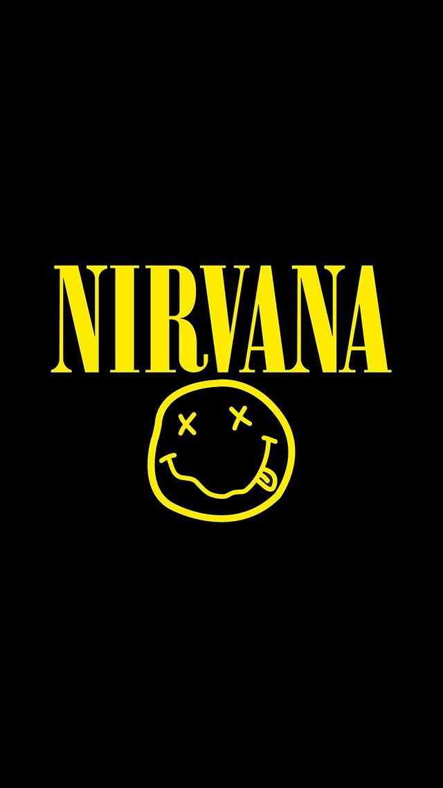 Nirvana- I still want a t shirt with this on !