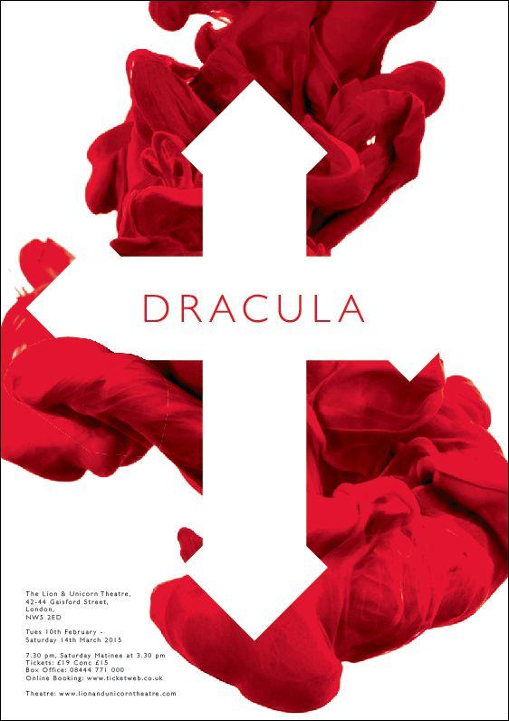 Dracula production poster - London - 2015