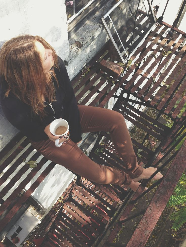 coffee on the fire escape