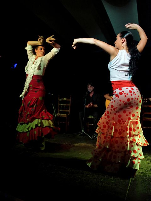 Flamenco is a style of music and dance which is considered part of the culture of Spain, although it is actually native to only one region: Andalusia. Flamenco is popularly depicted as being the music of Andulusian gitanos (gypsies) but historically its roots are in mainstream Andalusian society dating back to the 18th century.