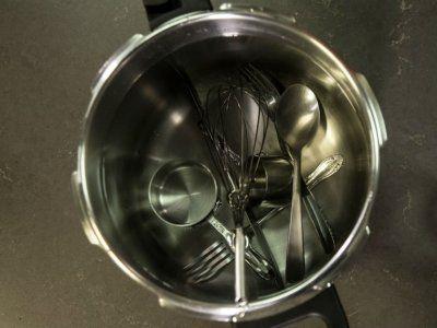 como lavar trastes correctamenteCómo desinfectar utensilios de cocina