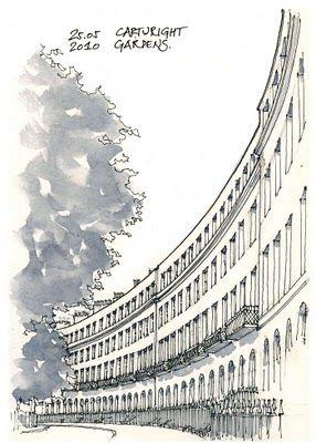 Urban Sketchers: 3 days in London... Gerard Michael