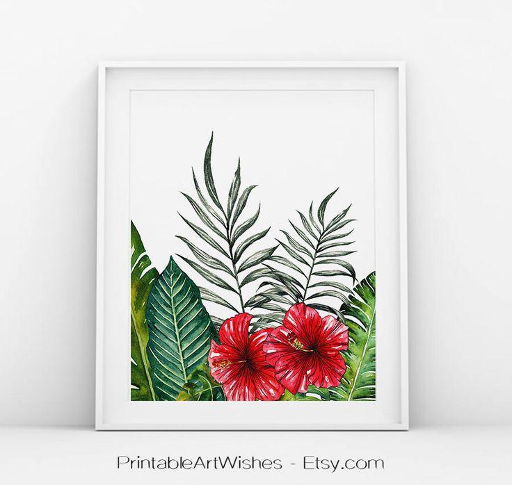 Arte de la pared tropical print Tropical, palmera impresión, arte del árbol de Palma, pintura de orquídeas, impresión de hoja de Palma, impresión de orquídea, arte moderno, arte de pared de hoja de PrintableArtWishes en Etsy https://www.etsy.com/es/listing/515111736/arte-de-la-pared-tropical-print-tropical