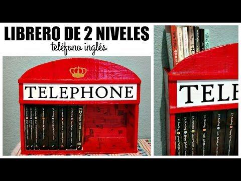 DIY! Librero de Cabina Telefónica ⚡ #3SemanasPotterhead | Ame Mayén - YouTube