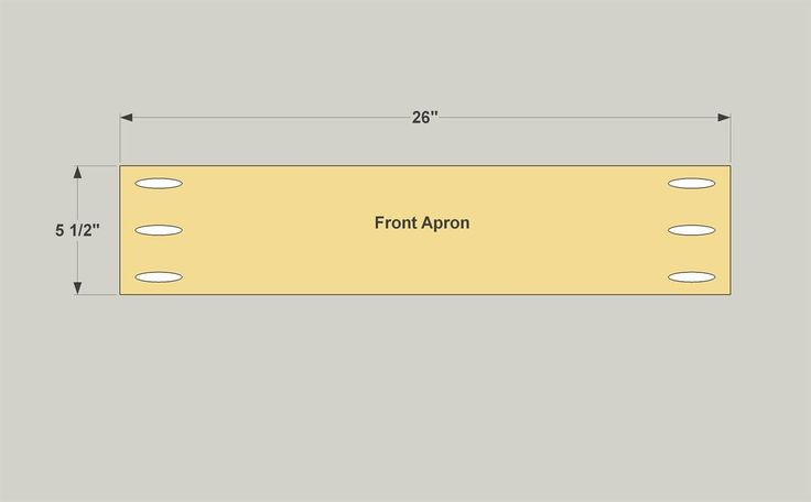 Create the Front Apron