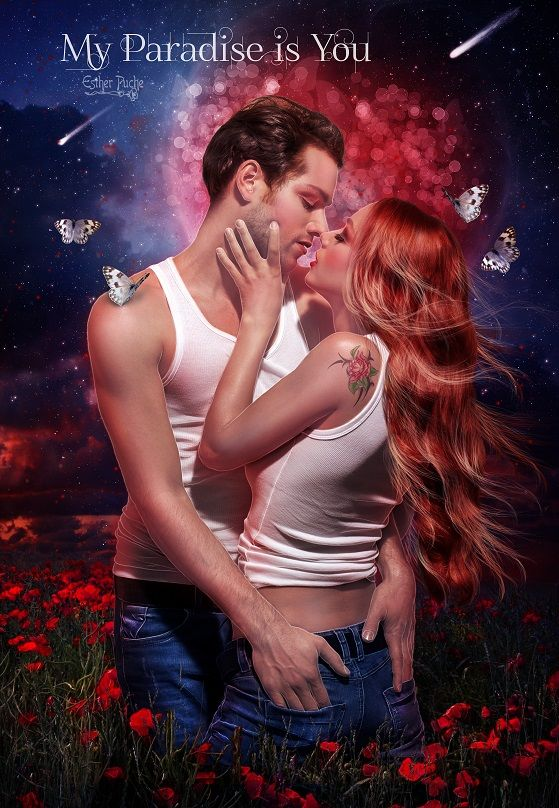 My Paradise is You by EstherPuche-Art.deviantart.com on @DeviantArt