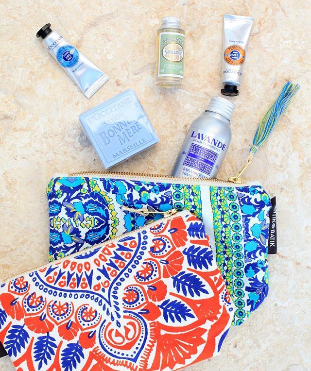 "Celebrate the end of #NYFW with @loccitane (and me)! On Thursday 9/17 from 6-8pm, I'll be hosting a ""Party in Provence"" at L'Occitane's Flatiron boutique. We'll have food, Provencal-inspired drinks and luxe mini facials! Plus you'll get an adorable Antik Batik cosmetic bag (+ two travel-sized products of your choice) on any purchase of $65. #sponsored"